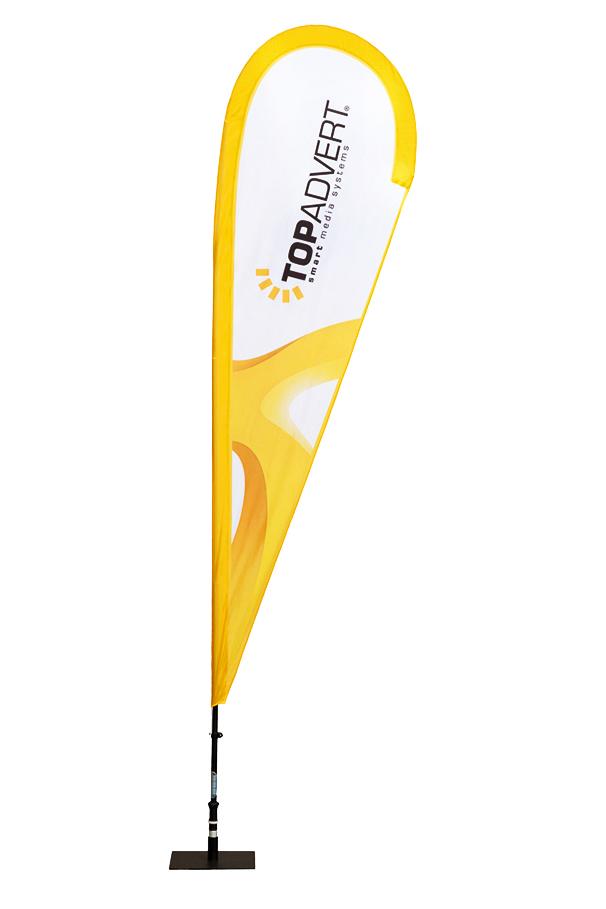 Muší křídla STANDARD (beach vlajky)
