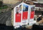 Reklamní plachty - reklamní banner z PVC, reklamní banner z materiálu MESH