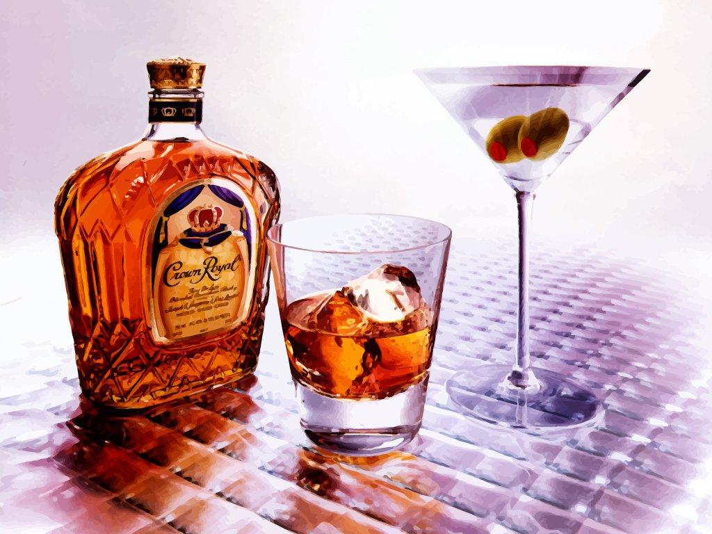 Královská whisky CROWN ROYAL