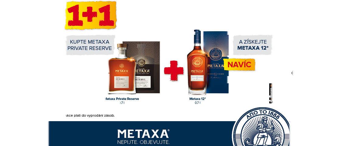 Metaxa Reserve + Metaxa 12yo