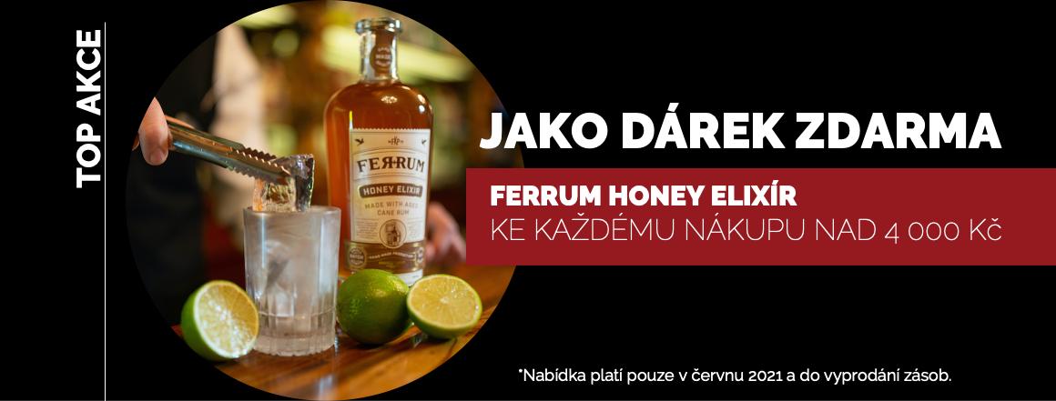 Dáme Vám ZDARMA Ferrum Honey Elixír při nákupu nad 4 000 Kč!