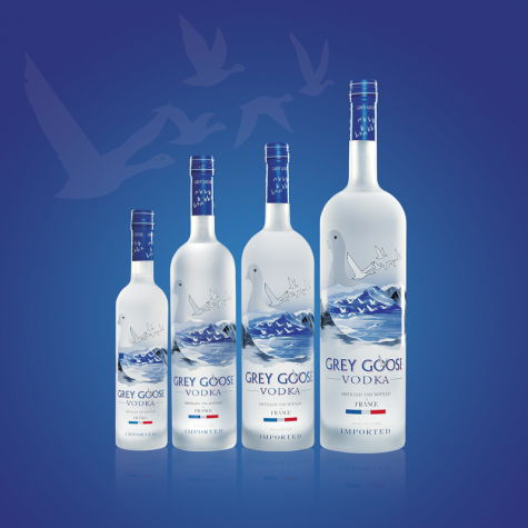 vodka Gray Goose original