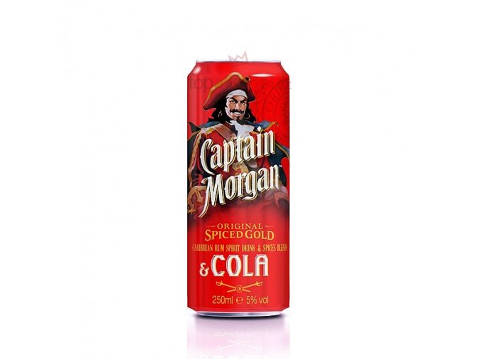 Captain Morgan Spiced Gold & Cola 0,25 l