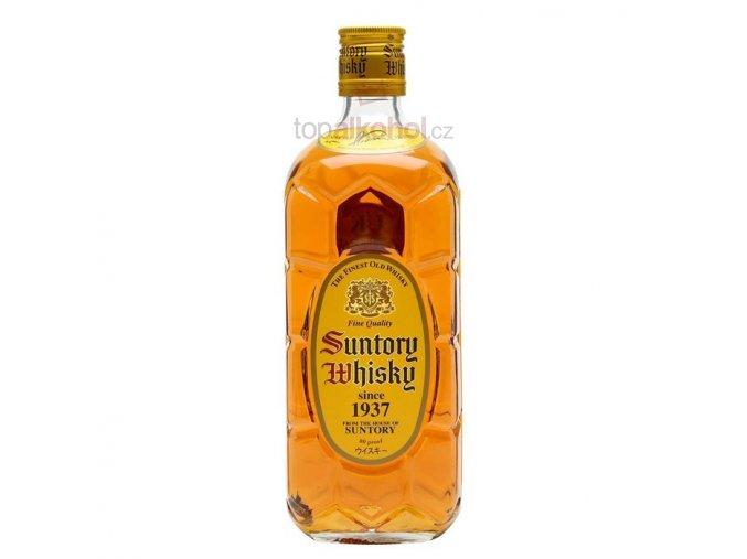 Suntory Kakubin yellow whisky