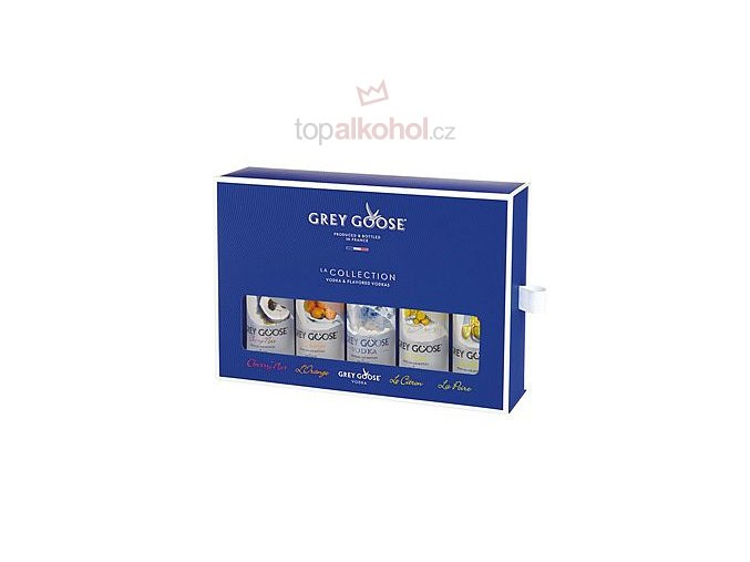 Grey Goose La Collection 5x50 ml