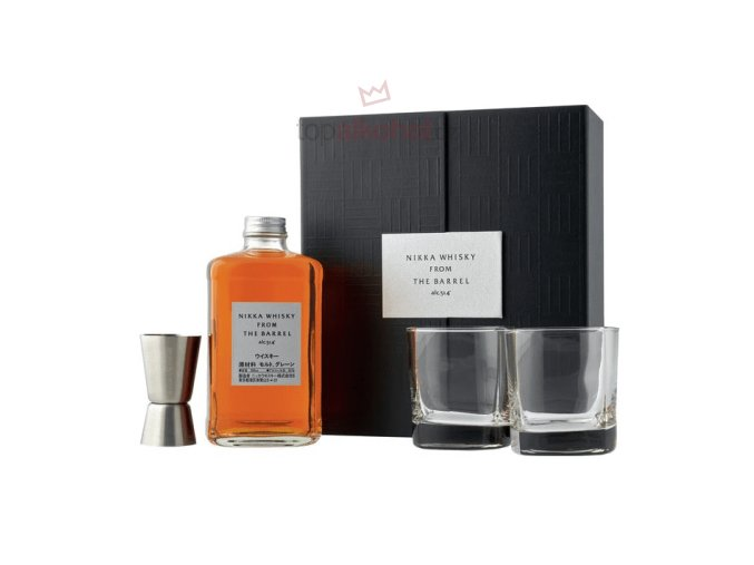 whisky nikka from the barrel coffret 2 shot