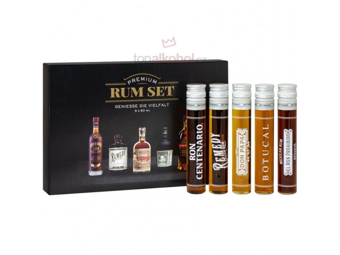 Rumtastic Rum Tasting Selection 5x40ml1 ml