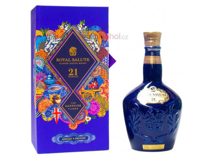 chivas royal salute 21 western edition gb 700ml 40 vol.