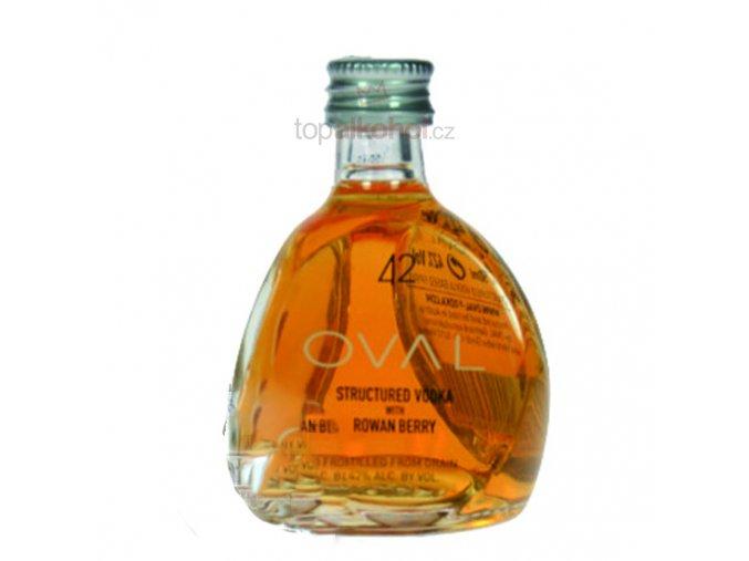 Oval Vodka 42% Rowan Berry 0,05l