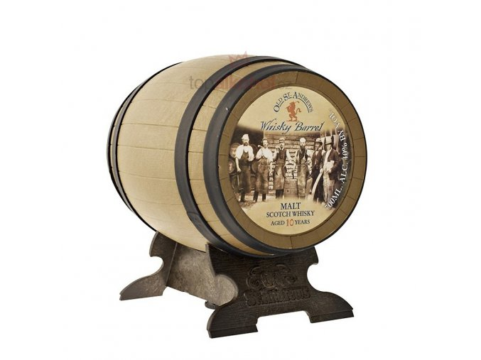 st andrew whisky barrel 10 years old