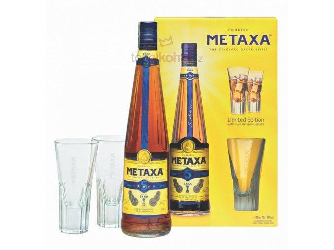 Metaxa 5* 0,7 l v dárkové kazetě