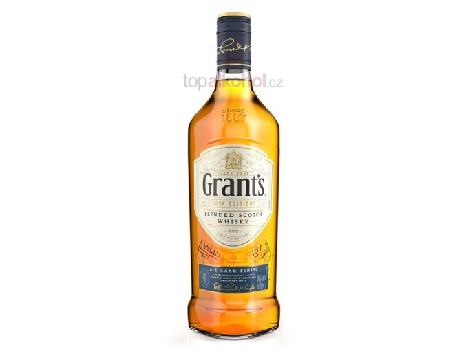 grants whisky ale 700ml front maly