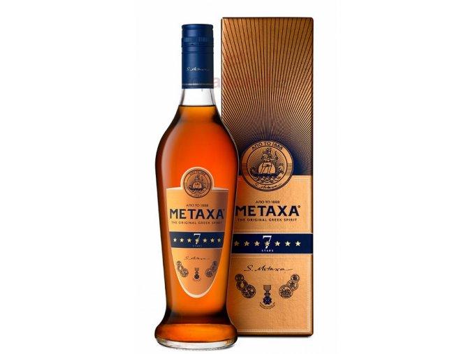 metaxa 7 stars bottle gb front.Maly