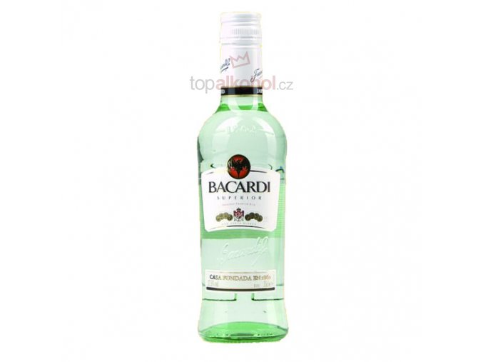 Bacardi Carta Blanca 37 % 0,35 l