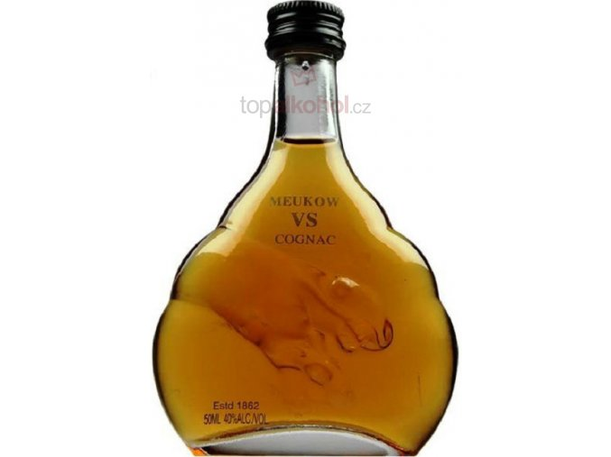 Meukow VS cognac miniatura