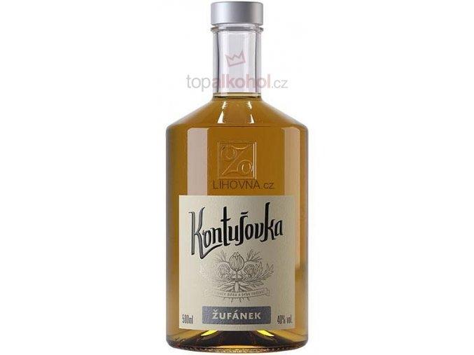 Kontušovka Žufánek 40 % 0,5 l