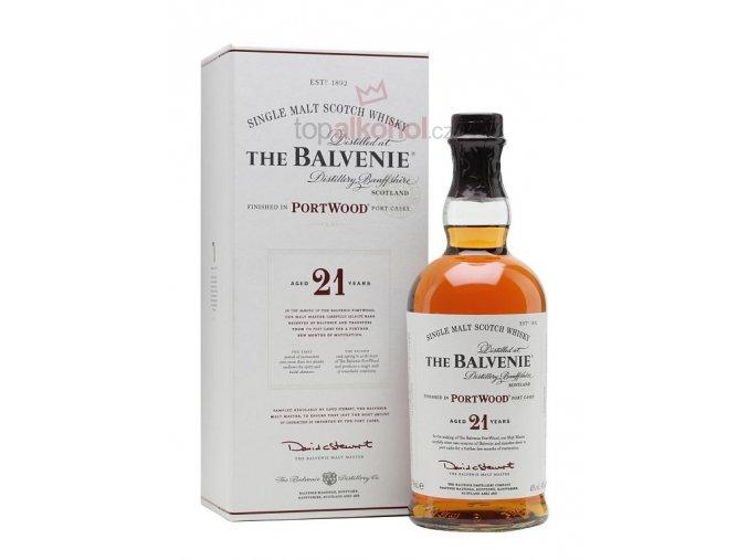 Balvenie 21 yo Port Wood 0,7 l 40 %