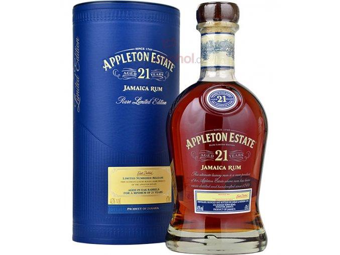 appleton estate 21yo rum in gift box