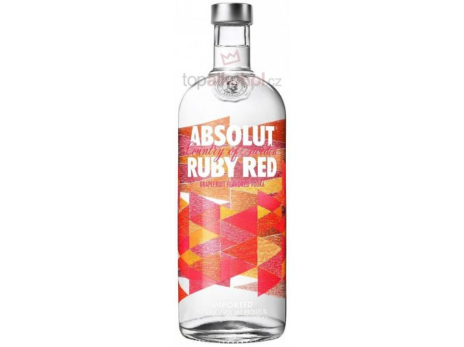 Absolut Ruby Red 1 l 40 %