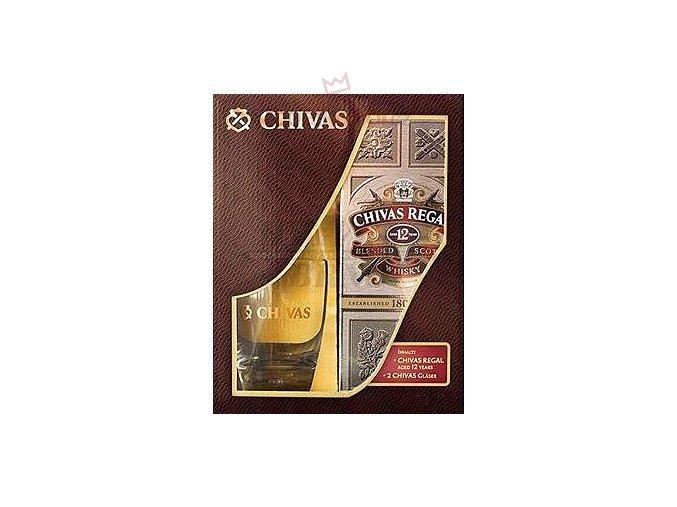 Chivas Regal 12 yo 40 % 0,7 l (dárkové balení)