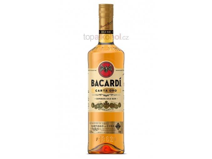 Bacardi Gold Carta Oro