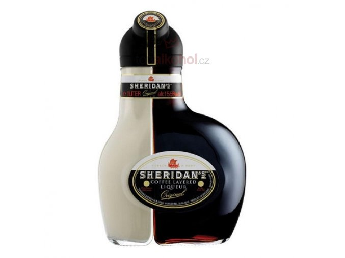 sheridans coffee layered liqueur 1l