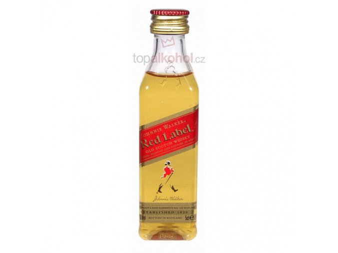 Johnnie Walker Red Label 0,05 l