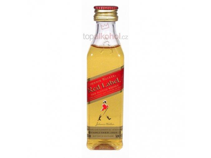 Johnnie Walker Red Label 40 % 0,05 l