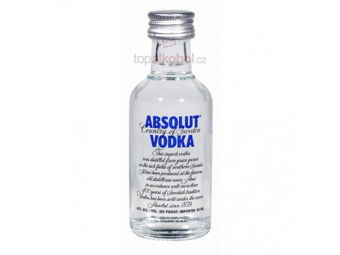 Absolut Blue 0,05 l