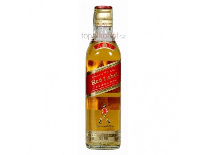 Johnnie Walker Red Label 43 % 0,35 l