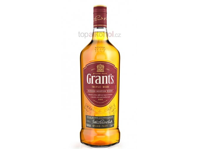 grants whisky tripplewood 1l front maly