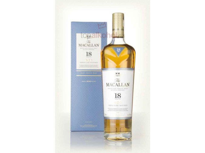 the macallan 18 year old triple cask whisky