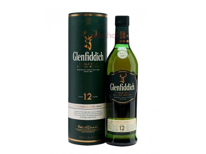Glenfiddich 12 yo 40 % 0,7 l