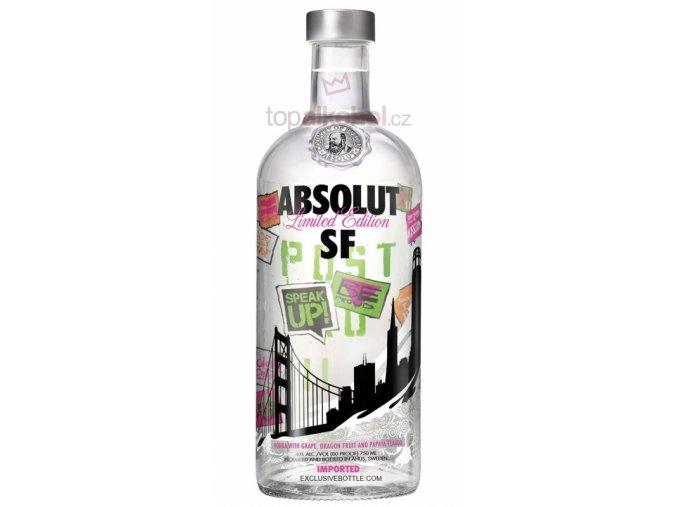 absolut vodka san franzisco 07l