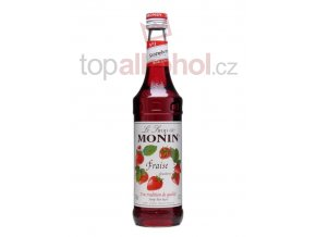 monin strawberry jahoda