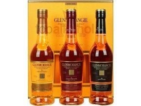Glenmorangie Pioneering Collection 3 x 0,35l v dárkové kazetě