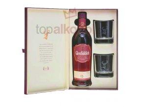 Glenfiddich 15 yo 0,7l v dárkové kazetě