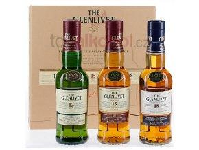 Glenlivet Tri pack (12yo/15yo/18yo) 3 x 0,2l
