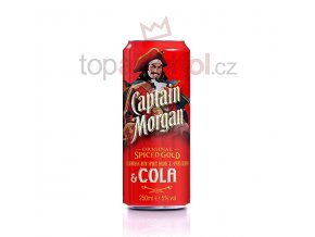 Captain Morgan Spiced Gold & Cola 0,25 l