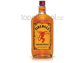 Fireball Cinnamon Whisky 1 l 33 %