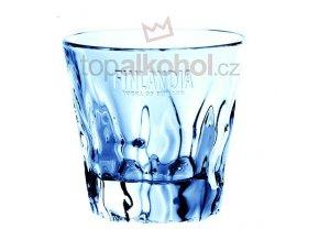 Finlandia logo sklenička