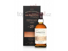 Balvenie 25 Years Old Triple Cask 0,7l