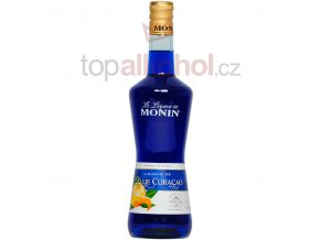 monin blue curacao 600