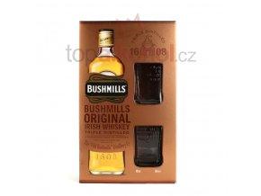 Bushmills originál 1l dárková kazeta