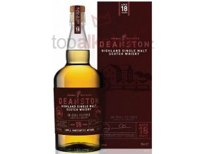 Deanston 18 yo Bourbon Cask Finish  Un-Chill Filtered 0,7l