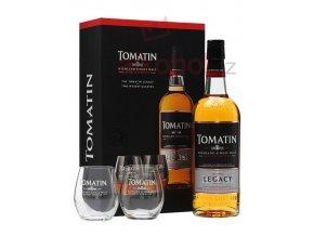 Tomatin Legacy + 2 x sklo 0,7l