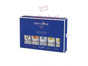 Grey Goose La Collection  40 % 5x50 ml
