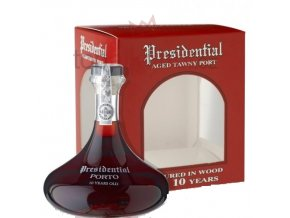 presidential 10 year aged tawny port decanter I oprava