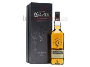 Cragganmore 25 yo Natural Cask Strength 0,7 l