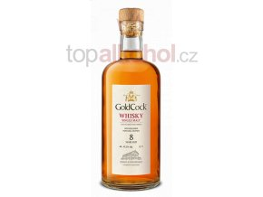 Gold Cock Whisky 8years old 0,7l